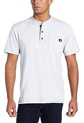 Dickies Men's Big & Tall Heavyweight Henley Shirt
