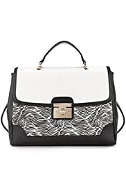 Monochrome Print Handbag [T01-7529R-S]