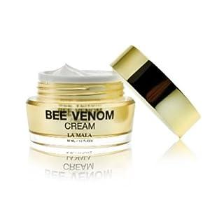 Best Natural New Zealand Bee Venom Cream Lift & Firm Moisturizing Cream LAMALA 30 Ml (Free Apple Lip Care)