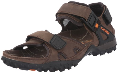Allrounder by Mephisto - Sandali, Uomo, Marrone (Braun (Dark Brown)), 42