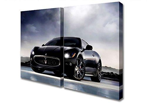 two-panel-maserati-granturismo-black-stunner-canvas-art-prints-extra-large-32-x-64-inches
