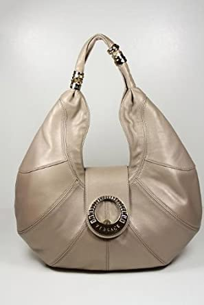 Versace Handbags Dark Beige Leather DBFB845