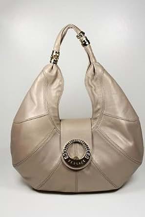Versace Handbags Dark Beige Leather DBFB845