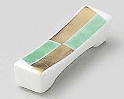 Ichimatsu 6.7cm Ensemble de 5 Chopstick Rests White porcelain Originale Japonaise