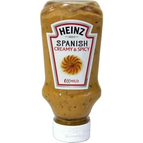 Heinz exotisch-scharfe Grillsauce Spanish Creamy and Spicy (220ml Squeezer Flasche)