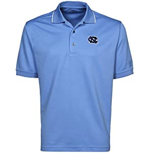 North Carolina Tar Heels PGA TOUR Mens Tipped Polo Shirt by PGA TOUR