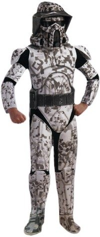 Rubies Clone Wars Arf Trooper Storm Kids Halloween Costume L