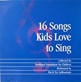 img - for 16 Songs Kids Love to Sing book / textbook / text book