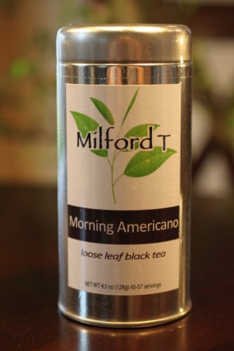 Milford T - Morning Americano Loose Leaf Black Tea 57 Servings