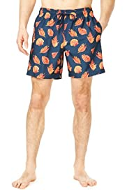 Blue Harbour Shell Print Swim Shorts [T28-7978B-S]