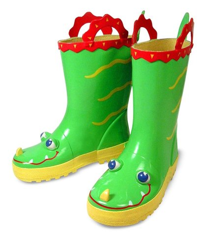 Melissa and Doug Augie Alligator Rain Boots
