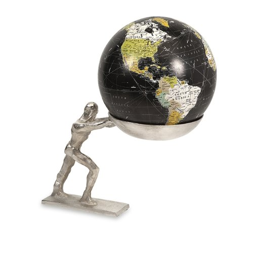 Imax 19941 Man Holding The World Globe