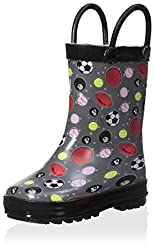 Lilly of New York Kid s Sports Rain Boot Multi 5 M US Toddler