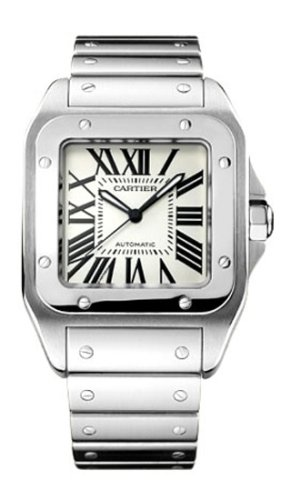 Cartier Men's W200737G Santos 100 XL Stainless Steel Automatic Watch