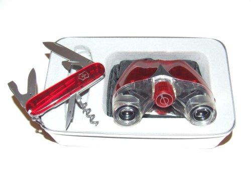 Victorinox Spartan Knife And Simmons 8 X 21 Binocular