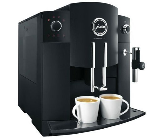 Jura Impressa C5 Kaffeevollautomat schwarz
