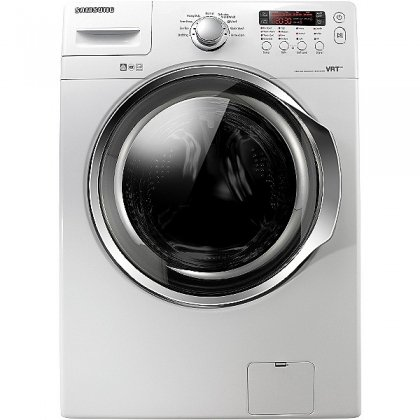 Samsung WF330ANW 3.7 cu. ft. High Efficiency Front-Load Washer - White