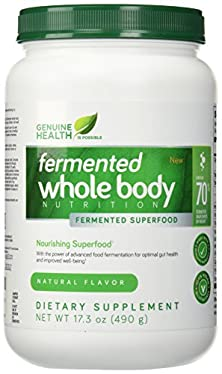 buy Genuine Health Fermented Whole Body Nutrition Natural -- 17.3 Oz