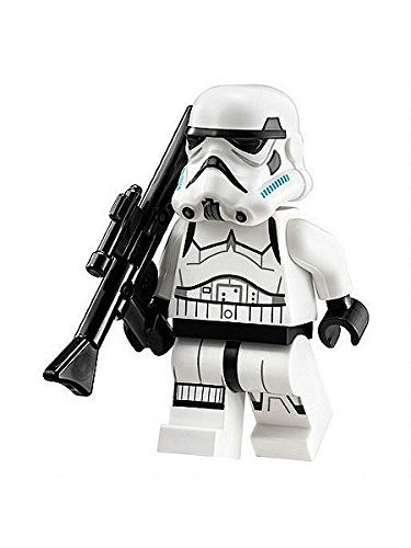 Stormtrooper with Blue Helmet Vents LEGO Minifigure - 1