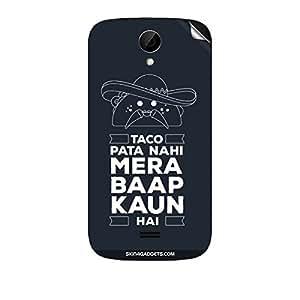 Skin4Gadgets Taco Pata Nahi Phone Skin STICKER for INTEX AQUA 3X
