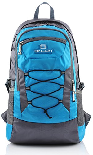 Binlion Outdoor Daily Camping and Hiking Backpack (Blue)