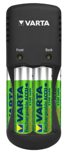 Varta-Easy-Energy-Pocket-(with-4-AA-Size-Ni-MH-2100-mAh)-Battery-Charger