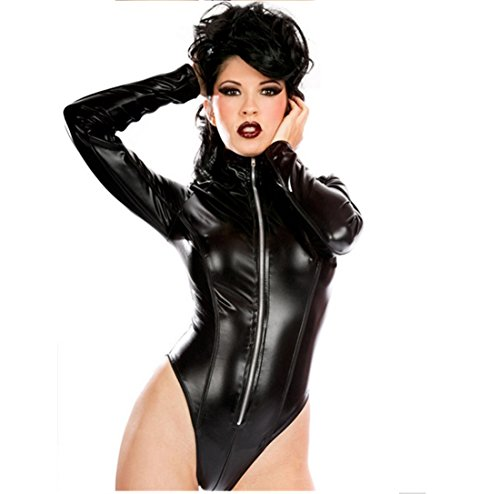 Pole Dance Fetish Dress Jumpsuit Nightclub Catsuit Costumes