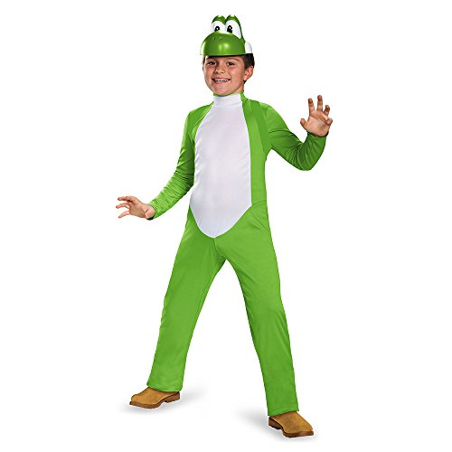 Disguise Yoshi Deluxe Costume, Small (4-6)