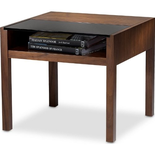 Cheap BDI Xela 1146 – End Table in Chocolate Stained Walnut Finish (B004WJTRQS)