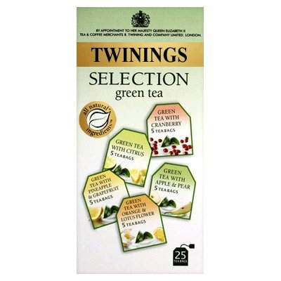 Twinings Green Tea Selection Box 25 Teabags