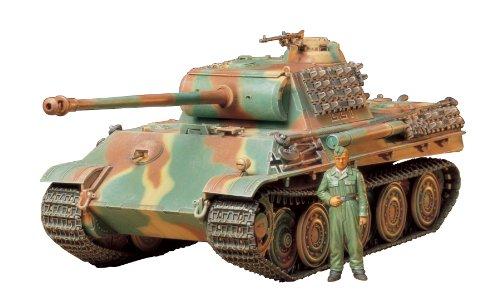 1/35 ミリタリーミニチュアシリーズ No.174 ドイツ戦車 パンサーG スチールホイール仕様 35174