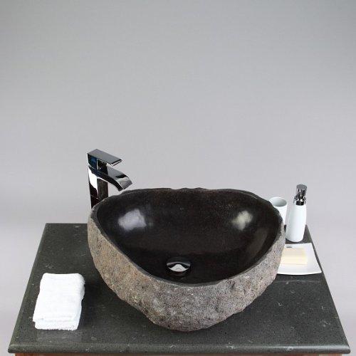 die besten badm bel set flu stein waschbecken innen. Black Bedroom Furniture Sets. Home Design Ideas