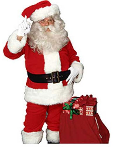 Adult-Costume Imperial Santa Suit Christmas Costume - Most Adults