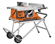 Best Price Ridgid R4510 Heavy Duty Portable Table Saw With Table Saw Best