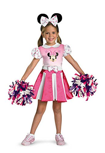 baby-girls - Minnie Mouse Cheerleader Toddler Costume 3T-4T