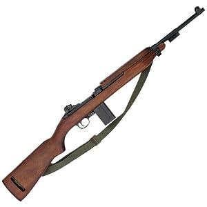 Denix World War-II M1 Carbine Rifle Non-Firing Replica Gun with Sling by Denix