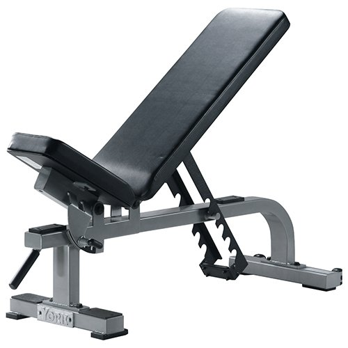 York Barbell 54027 Flat to Incline Bench44; White