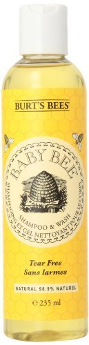 Burt's Bees - Baby Bee Shampoo & Wash Tear Free Original - 8 oz. - 2 Pack