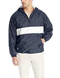 Charles River Apparel Men\'s Classic Striped Pullover, Navy/White, XX-Large