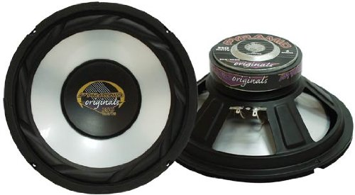 Pyramid Wx102X 10-Inch High Power White Injected P.P. Cone Woofer