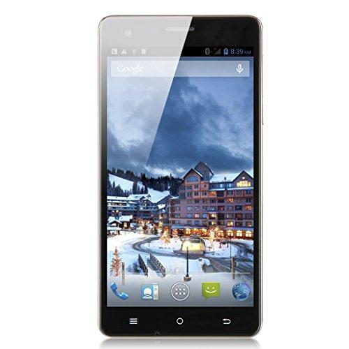 "CUBOT S350 3G Smartphone 5,5"" Zoll Screen Quad Core 1.3GHz Dual SIM 2G+16G Dual Kameras Android 4.4 Handy ohne Vertrag GPS Bluetooth 4.0 WIFI Schwarz"