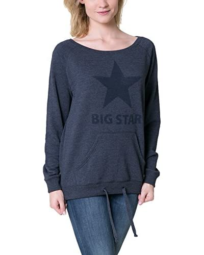 Big Star Sweatshirt nachtblau