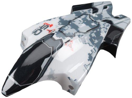 Heli Max 1SQ V-Cam Canopy, White/Black
