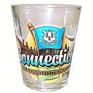 DDI - Connecticut Shot Glass 2.25H X 2 W Elements