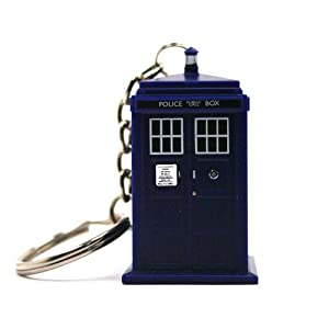 DOCTOR WHO DR123 DR WHO Tardis Keychain Torch (DR123) - ( Gifts & Toys Keyrings & Keychains)