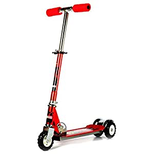 Saffire Kids Scooter with Tractor Wheels Red