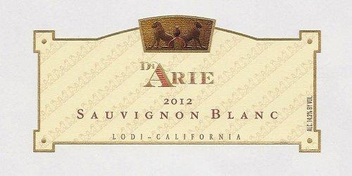 2012 C. G. Di Arie Flagship Wines Sauvignon Blanc, Lodi, California 750 Ml