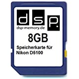 8GB Speicherkarte für Nikon D5100