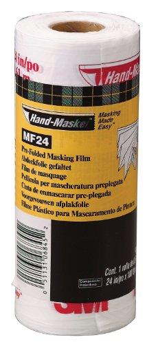 """Hand-Masker MF24 Masking Film, 24"""", Trasparente"""