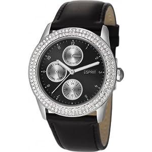 Esprit Damen-Armbanduhr Peona Analog Quarz Leder ES105912001